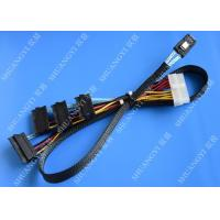 Wholesale Serial Attached SCSI SAS SFF 8087 TO SFF 8482 Cable 28AWG Multi – Port Length 65cm from china suppliers