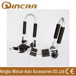 Wholesale Adjustable Folding aluminum Kayak Roof Carrier Universal Kayak Rack from china suppliers