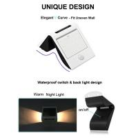 Wholesale 20 LED Outdoor Solar Power Security Wall Light for Patio / Deck / Garage from china suppliers