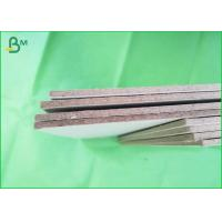 Buy cheap Uncoated tough 1200gsm Grey Board Paper , Straw Board Paper 70x100cm from wholesalers