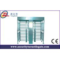 Wholesale Access control Double Turnstile Full Height for stadium , 30 person / min from china suppliers