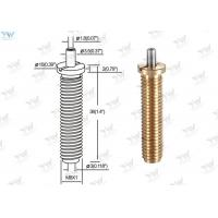 Wholesale Precision M 8 Fully Threaded Brass Cable Gripper / Aircraft Cable Adjustable Fittings from china suppliers