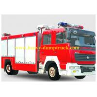 Wholesale Fire Engine Trucks SINOTRUK HOWO 4x2 6 CBM with Foam Tank EURO 2 from china suppliers