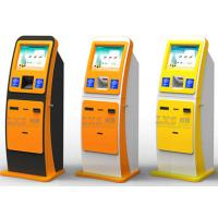 Wholesale High Safety Performance Bill Payment Kiosk With Card Scanner / Standalone Kiosk from china suppliers