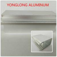 Wholesale Silver Color Polished Aluminum Profile T5 For Window / Door Materials from china suppliers