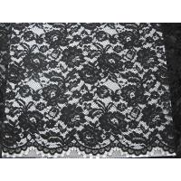Wholesale Heavy Corded Lace Fabric Black from china suppliers