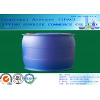 Wholesale IPAC Isopropyl Acetate Paint Solvent CAS 108-21-4 With Pleasant Fragrance from china suppliers