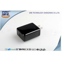 Wholesale 100-240VAC Briliant Black 5V 3A  Type - C Charger for Quick Charging from china suppliers