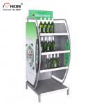 Wholesale Customized Wine Display Stand Beverage Beer Display Rack Pop Merchandise Displays from china suppliers
