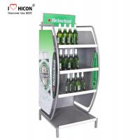 Buy cheap Customized Wine Display Stand Beverage Beer Display Rack Pop Merchandise Displays from wholesalers