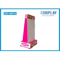 Wholesale Corrugated Cardboard Hook Display Stands For Convenience Store from china suppliers