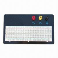Buy cheap Breadboard/Solderless Breadboard, 830 Contacts with Aluminum Base Plate and Binding Posts  from wholesalers