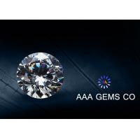 Wholesale Supper White Round Moissanite Stones , Forever Brilliant Moissanite from china suppliers