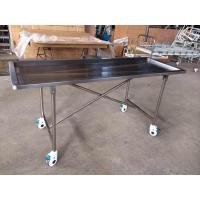 Foldable Stainless Steel Embalming  Operating Autopsy Tables Mortuary Products