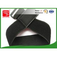 Wholesale 250 * 50mm size elastic straps with hook and loop , elastic hook and loop band For stuff tidy from china suppliers