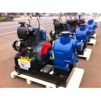 China Trailer air cooled deutz diesel engine fire pump 80hp self priming water 300GPM on sale