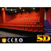 Wholesale 100 Seats Electric System 4d Motion Theatre Seat With Rain Bubble Snow Wind Fire from china suppliers