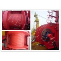 Wholesale Single Drum Electric Winch Machine 45kn 50kn Rated Load For Hoist And Marine from china suppliers