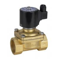 Wholesale DC 24v Natural Gas Solenoid Valve Brass Electric Solenoid Valve Low Pressure from china suppliers