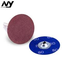"Wholesale Purple Power Lock Roloc Abrasive Disc , Rolloc 3"" 75mm Die Grinder Sanding Rolls from china suppliers"