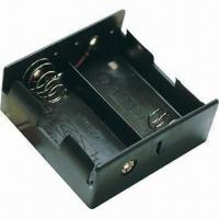 Wholesale 2 x D Battery Case with Solder Plug from china suppliers