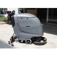 Wholesale Dycon Battery Powered Floor Scrubber Walk Automatically Gray Color Floor Cleaner from china suppliers