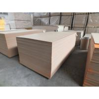 Wholesale 7.5mm - 30mm Melamine Faced MDF Board White Oak With Solid / Wooden Color from china suppliers