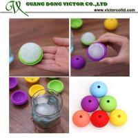 Buy cheap Colorful Silicone ice ball mould 4.5cm Food grade high quality wholesales silicone mould red yellow green blue from wholesalers