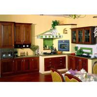 Wholesale solid wood kitchen cabinet from china suppliers