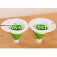 Wholesale Wholesale Eco-friendly FDA Collapsible Silicone Funnel Expandable Small Funnel OEM Design from china suppliers