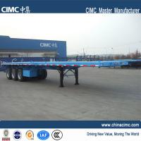 Wholesale 40T 60 ton load capacity flatbed truck trailer for sale -  CIMC Vehicle from china suppliers