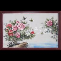 Wholesale Natural Stone Home Decoration Hand Paint Oleograph from china suppliers