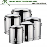 Wholesale Large capacity Wholesale Stainless steel foam insulation barrels 10L 20L 30L 40L 50L 60L 70L from china suppliers