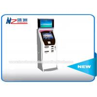 Wholesale Cash Acceptor Moving Self Service Ticket Vending Machines With Thermal Printer from china suppliers