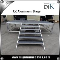 Wholesale Aluminium Adjustagble Height Portable Stage For dancing mobile stage performance stages from china suppliers
