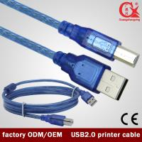 Wholesale 1.5m Blue USB 2.0 printer cable for printer/scanner from china suppliers