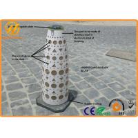 Wholesale Qatar Standard Traffic Safety Equipment / Solar Traffic Cone Solar Lights , Long life from china suppliers