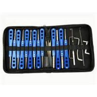Wholesale Stainless Steel Auto Locksmith Tools Champion Series Pick Set 20-In-One from china suppliers