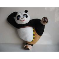 Wholesale Cute Kungfu Panda Kick Pose Cartoon Stuffed Toys For Collection from china suppliers