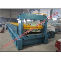 Wholesale Shallow Trapezoidal Composite Metal Floor Deck Roll Forming Machine from china suppliers