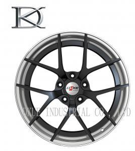 White Car Aluminum Forged Wheels Rims 16 × 6 Inch 25 / 30 ET