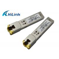 Quality Copper SFP Transceiver Module for sale
