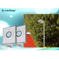 Wholesale OEM / ODM solar powered outdoor street lights Bridgelux Led Light Source 12V 6AH Lithium Battery from china suppliers