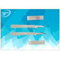 Wholesale Sterilized Disposable Scalpel With Carbon Steel Balde By Gamma Radiation from china suppliers
