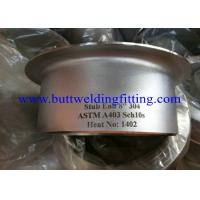 Wholesale Threaded Flanges Tube SS Stub End ASME B36.10M 1/8 Inch - 48 Inch from china suppliers