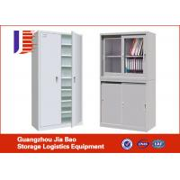 Wholesale Metal File Shelving Systems office filing systems With Swing Glass Door from china suppliers