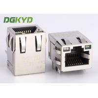 Quality Tab up 100Mb RJ45 with integrated magnetics modular jack for ethernet devices for sale
