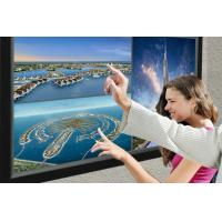 Wholesale IR 10 Point Multi Touch Panel With USB Cable / 100MA Pure Glass Infrared Touch Screen from china suppliers