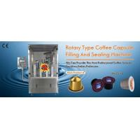 Wholesale Rotary Type Coffee Capsules Filling Sealing Machine from china suppliers