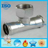 Wholesale Stainless steel hydraulic fittings,Stainless steel hydraulic pipe fittings,Stainless steel threading connecting end from china suppliers